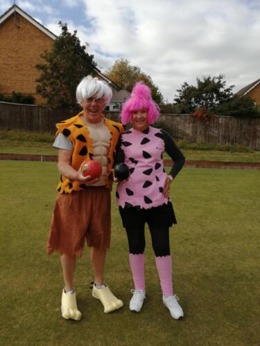 Jules and Andy Fancy Dress Weekend